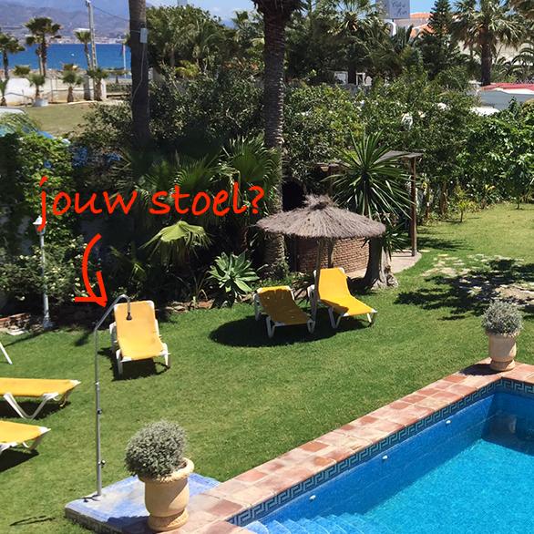 Blossom in Spain - Power2Blossom zwembad jouw stoel?
