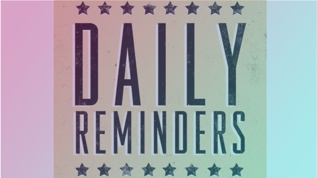 Daily reminders- Power2Blossom