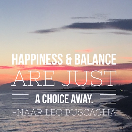 Happiness and balance are just a choice away - Power2Blossom