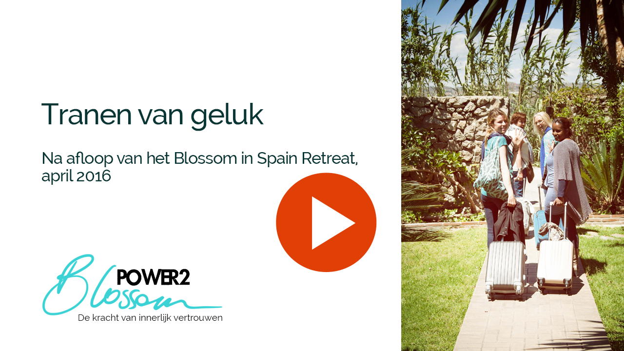 Video na afloop Blossom in Spain Retreat - Power2Blossom