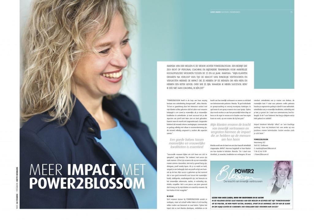 interview met Power2Blossom in Goeie Zaken Eindhoven