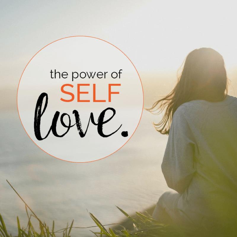 The power of self-love zelfliefde - Power2Blossom