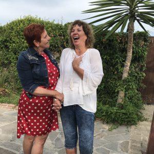 diep contacten en vriendschappen ontstaan tijdens Blossom in Spain Retreat