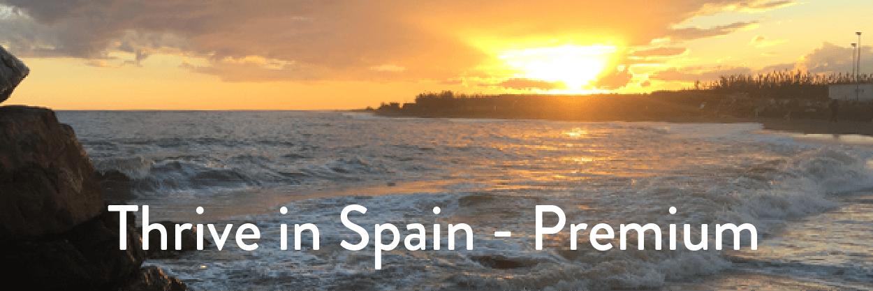 thrive in spain premium retreat