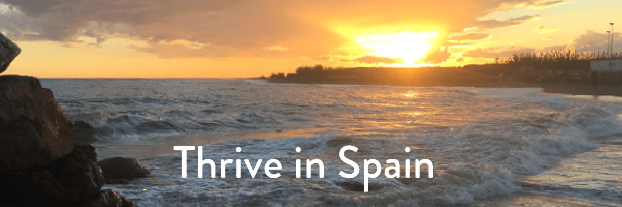 thrive in spain retreat
